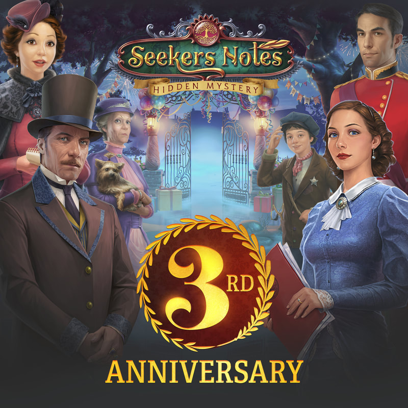 Seekers Notes 3rd Anniversary! A significant day!