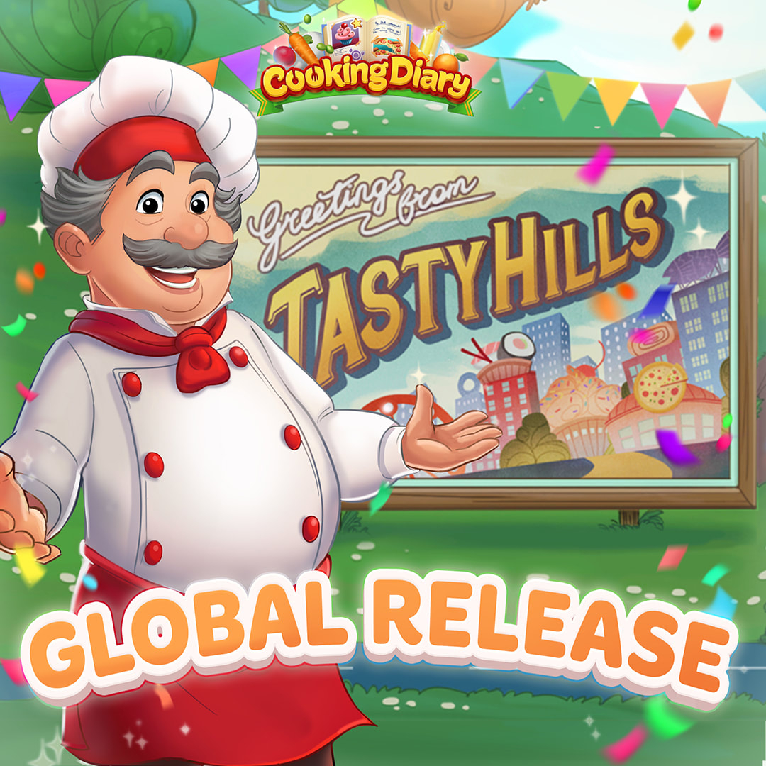 Cooking Diary global release!