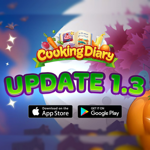 Cooking Diary. Update 1.3 Fire up the food truck!