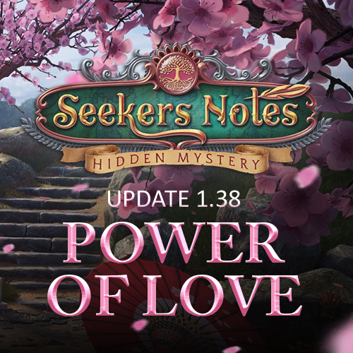Seekers Notes. Update 1.38: Power of Love