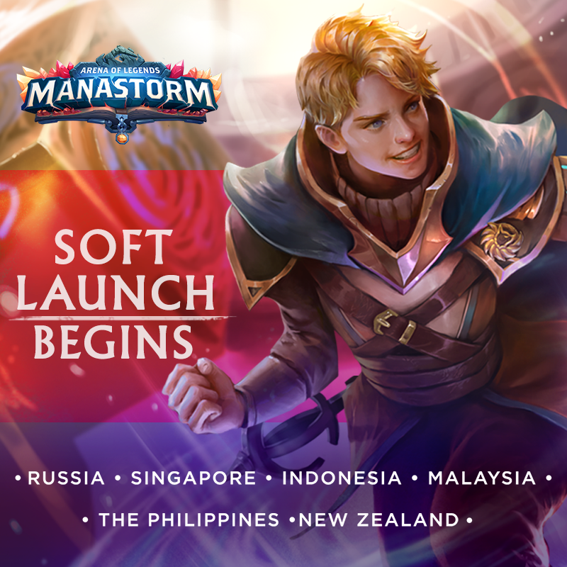 Manastorm: Arena of Legends is already in early access!