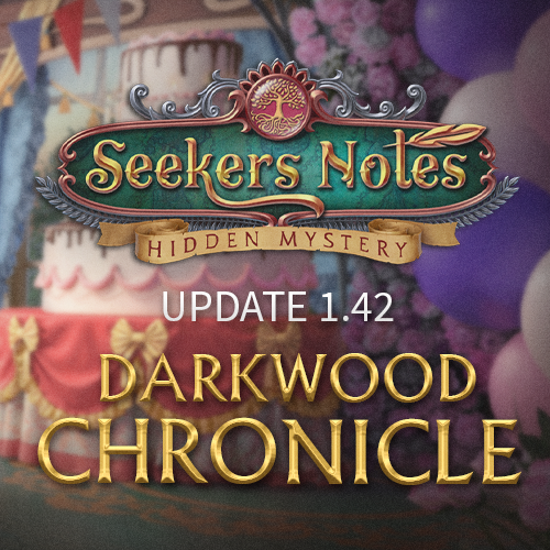 Seekers Notes. Update 1.42: Darkwood Chronicle
