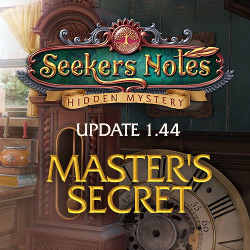 Seekers Notes. Update 1.44: Master's Secret