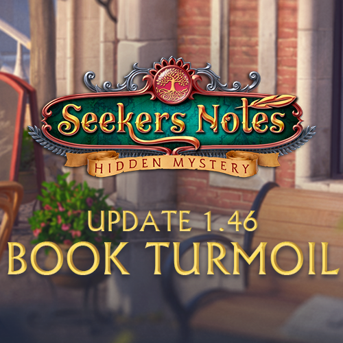 Seekers Notes. Update 1.46: Book Turmoil