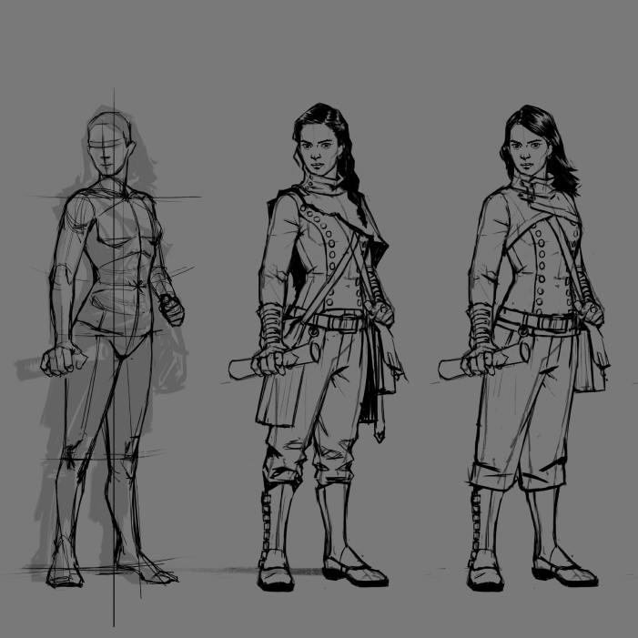 How to Create a Hidden Object Game Character: From Sketch to Final Drawing