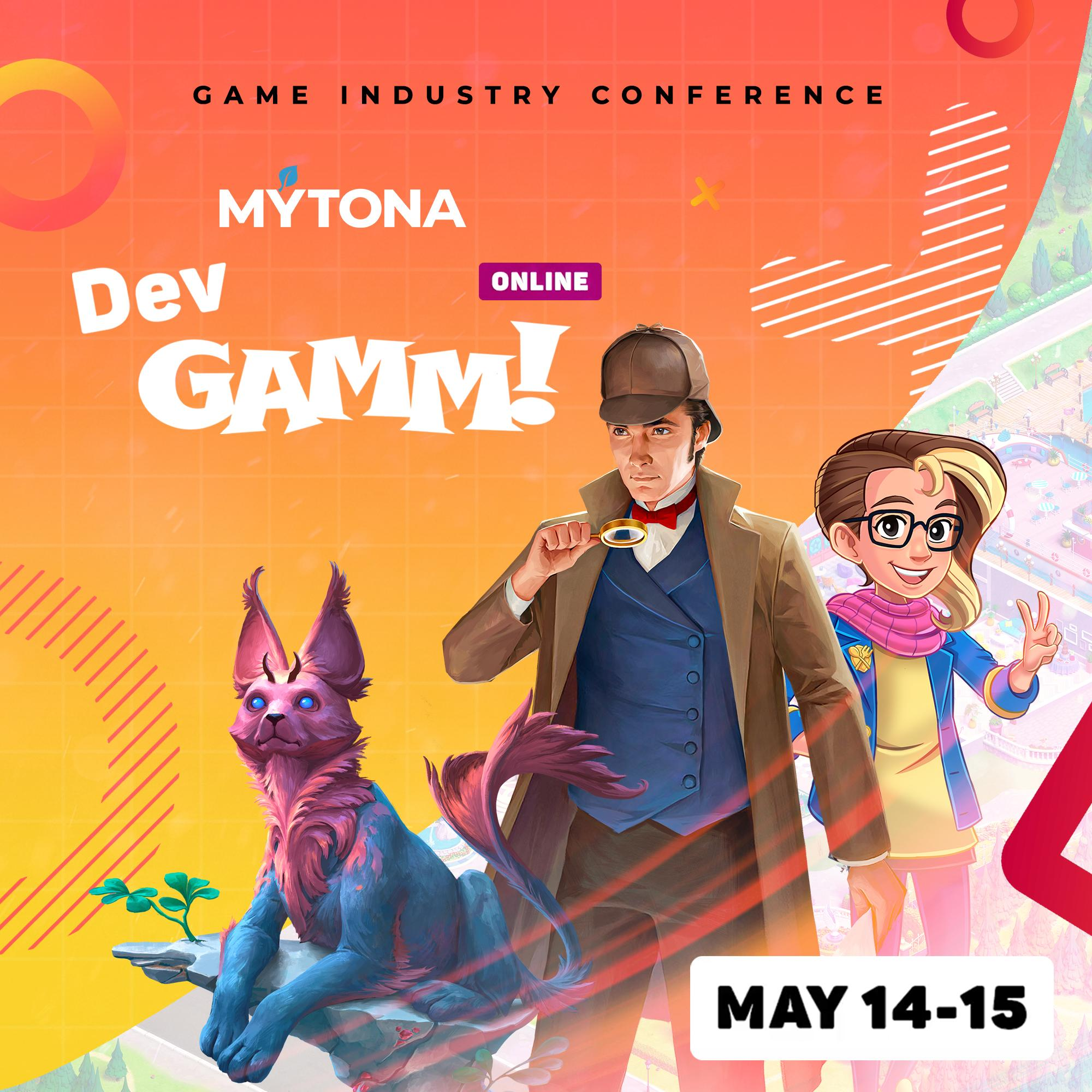 MYTONA at DevGAMM 2020: Now Online!