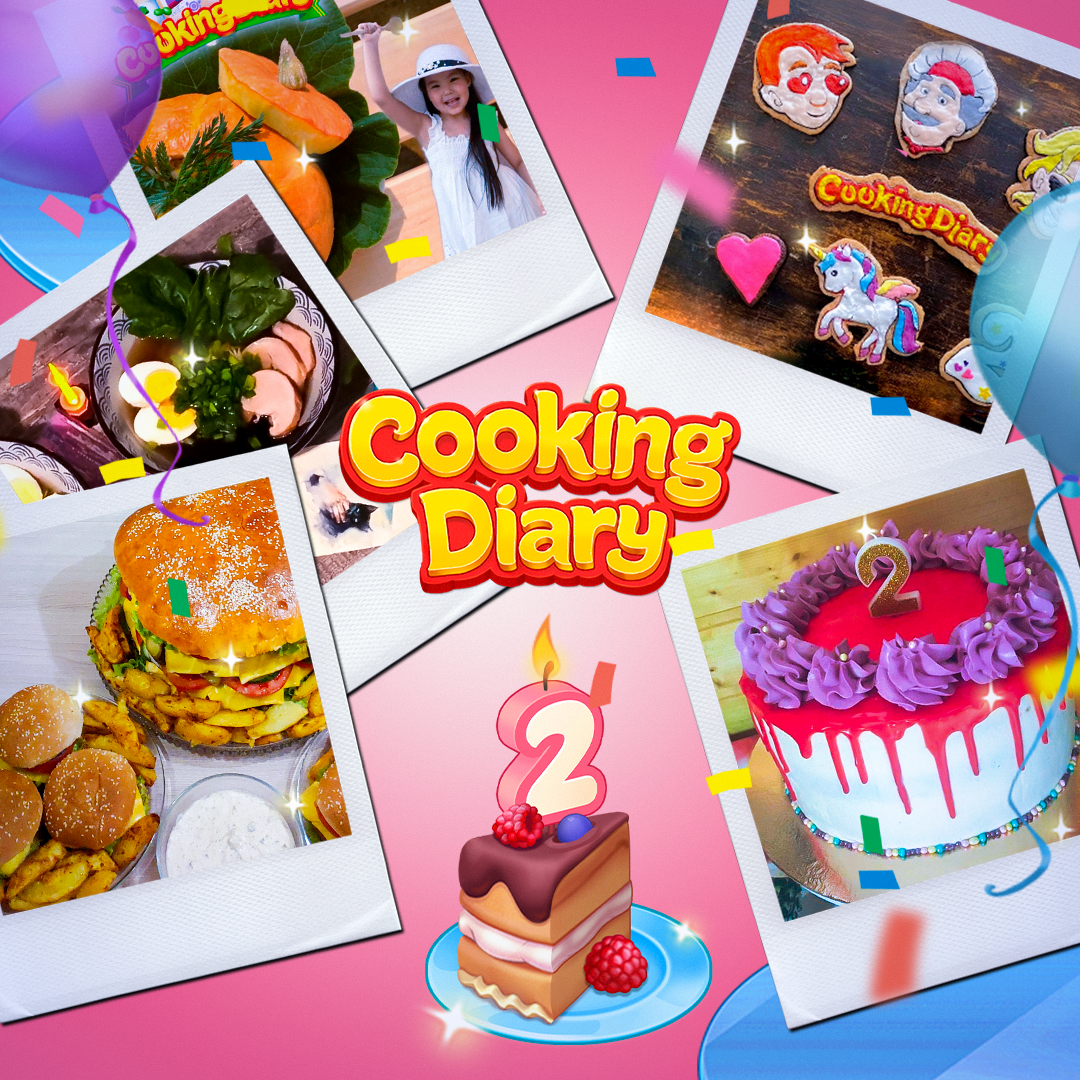 How We Celebrated Cooking Diary's Birthday