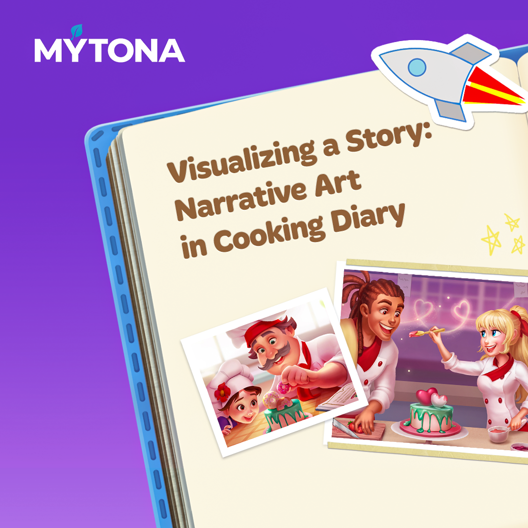 Visualizing a Story: Narrative Art in Cooking Diary