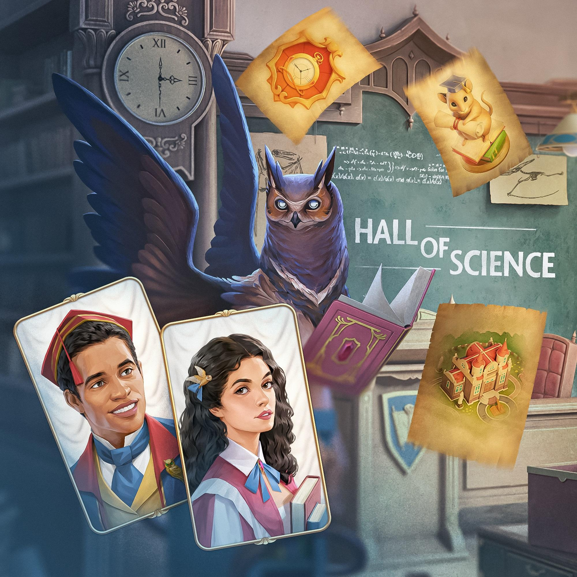 Ravenhill: Hidden Mystery. Update 2.22.0: Hall of Science