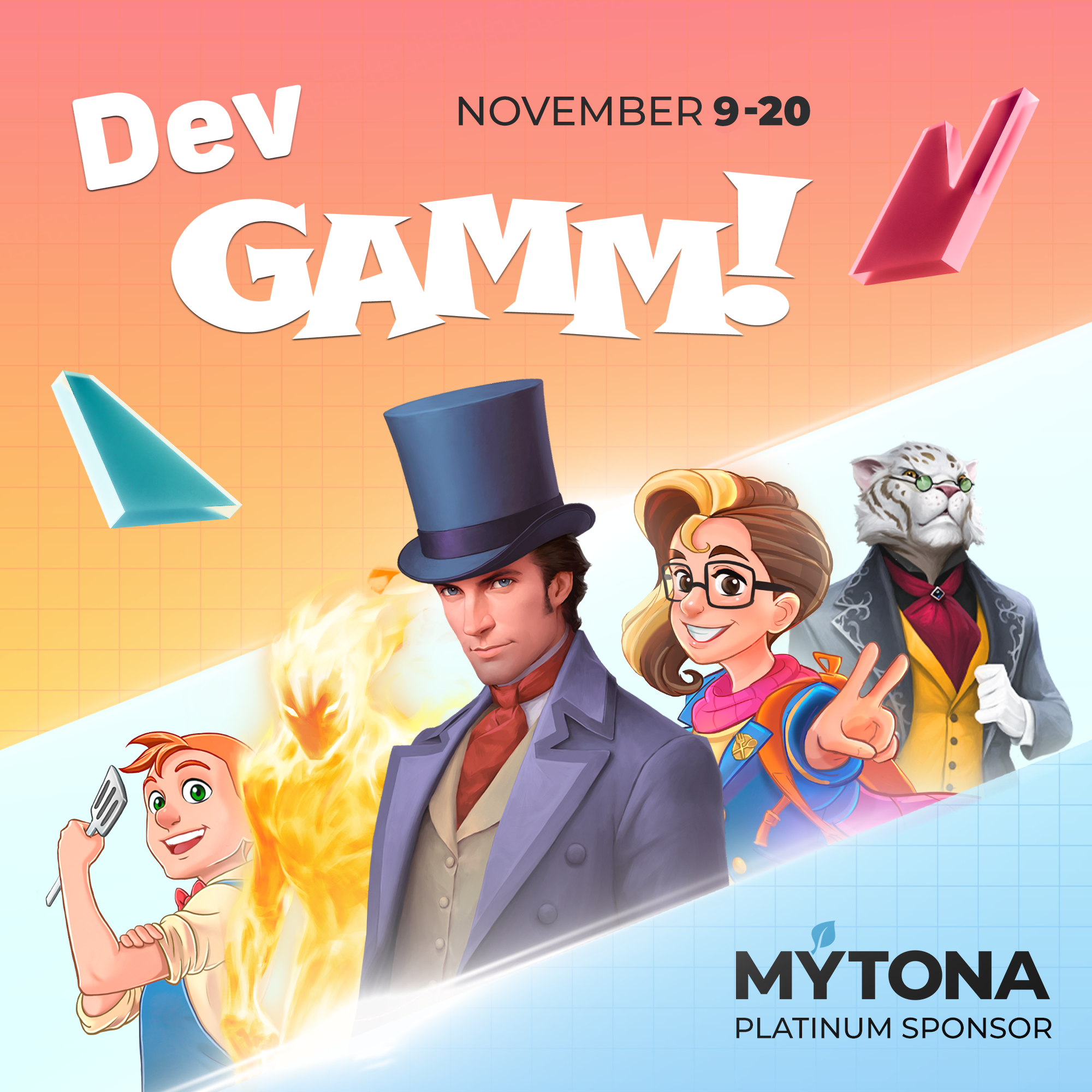 MYTONA is waiting for you at DevGAMM 2020!