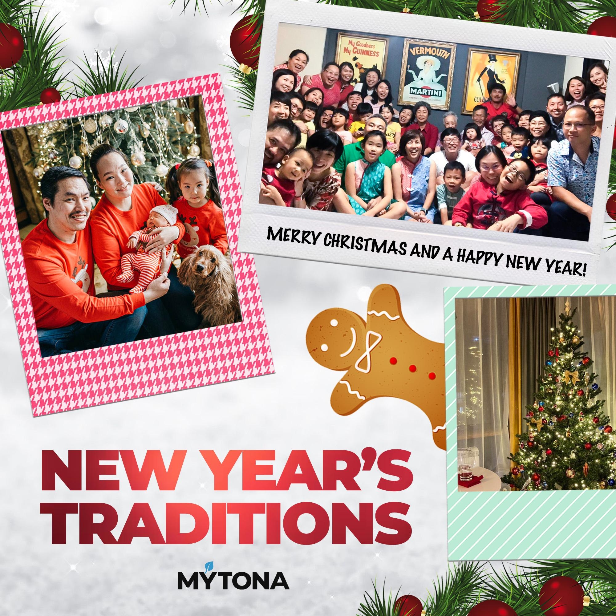 What New Year's traditions do mytonians from around the world have?